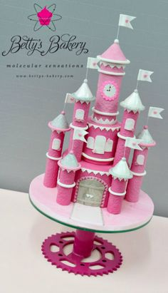 """Castle of Love"" Cake"