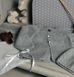 Cardigan bébé cachemire