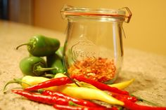 Got lots of hot peppers? How To Make Your Own Red Pepper Flakes