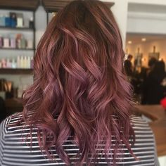 25+ Dusty Mauve Hair to Inspire Your Latest Hair Color | DesignLover