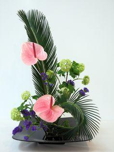 X Gran Exposición de Ikebana | Flickr - Photo Sharing!