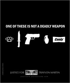 Guess which one Trayvon was carrying...? (If you don't support this cause, please move on. Do not post sarcastic comment here or try to make your opposing statements here. Your comments will be deleted.)