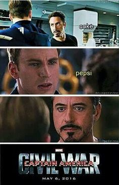 Coke or Pepsi? Marvel Fan, Marvel Heroes, Marvel Avengers, Avengers Cast, Marvel Comics, Funny Marvel Memes, Marvel Jokes, Pepsi, Coke
