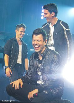 Joe McIntyre, Jordan Knight, & Jonathan Knight ~New Kids on the Block~