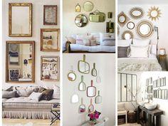 cómo decorar la casa con espejos