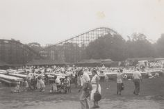 Photograph thought to be of the former Forest Park in Hanover, PA.