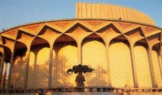 Its modest architecture houses a museum that showcases everything related to the Iranian life - Tehran, IRAN