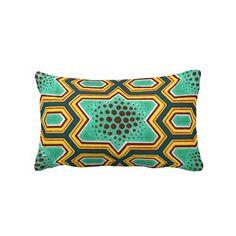 Geometric Chinese Japanese Graphic Design Pillow