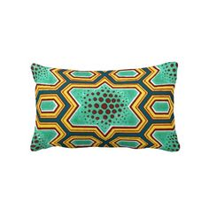 Geometric Chinese Japanese Graphic Design Pillow