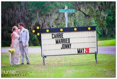 Carrie did indeed marry Jonny ... beautiful