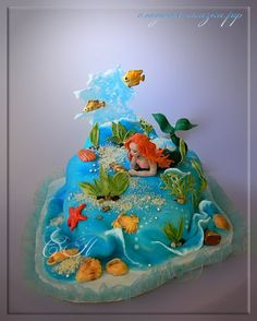 """The Little Mermaid""  ~ all edible and fantastic!"