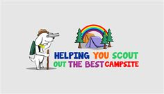 Campground review site needs logo www.campsites... Playful, Bold Logo Design by hernawanrere