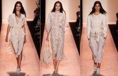 BCBG の最大アズリア ニューヨーク ロンドンファッションウィークの春夏 SS 2015 コレクション 01 を着用するには、準備ができてください。 1053