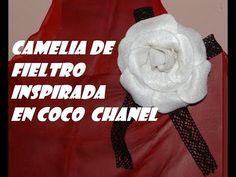 CAMELIA DE FIELTRO - YouTube