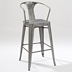 Metal Bar Stools With Back
