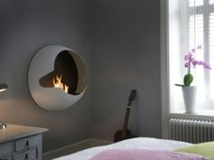 Bio fireplace for modern interiors - Little Piece Of Me