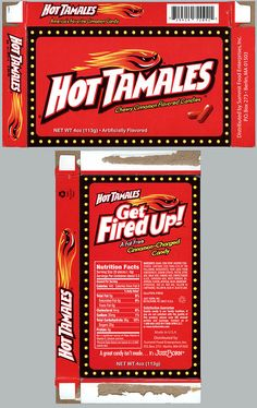 ... Food Ent - Hot Tamales - movie theater edition - candy box - 2012
