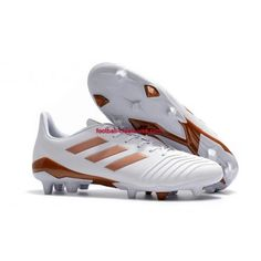 Buy 2018 Adidas Predator FG Football Boots White Golden Sale,Enjoy The Perfect Foot Feel From the Professional Adidas Predator Tango FG Football Boots. Cheap Nike Soccer Cleats, Best Soccer Cleats, Adidas Soccer Shoes, Adidas Football, Football Shoes, Basketball Sneakers, Adidas Predator, Tango, Girl Football Player