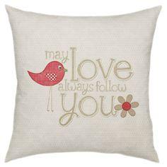 Love Follows You Pillow