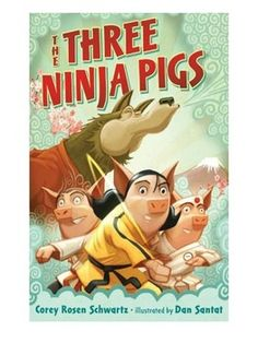 This purchase includes printable Reader's Theater scripts for NINE fun, picture books. The books in this bundle have great dialogue/text/rhythm that make presenting these Reader's Theater super fun for students!  1. The Three Ninja Pigs by Corey Schwartz 2.