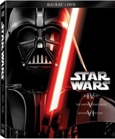 Star Wars Trilogy Episodes IV-VI (Blu-ray + DVD) - Movies / BluRay, Action | Adventure | Fantasy, New Years Movie Ideas.