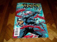 Aquaman 23.1 Black Manta 1 Villains Month, (2013), 3D Cover, DC A1
