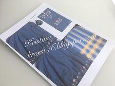 Kristinas kortblogg: Bunadskort - tips og råd Big Shot, Tips, Diy And Crafts, Photoshop, Paper, Cards, Scrapbooking, Scrapbook, Maps