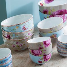 Rose Khaki Bowl Set of 4