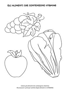 Blog scuola, Schede didattiche scuola dell'infanzia, La maestra Linda, Schede didattiche da scaricare, Food Crafts, Bullet Journal, Science And Technology, Coloring Pages, Doodles, Drawings, Pinocchio, Terra, Stage