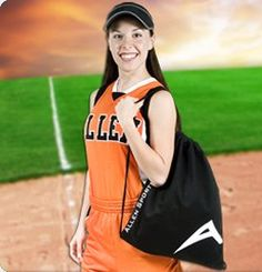 14.You don't have to drain your budget just to make sure your softball team looks great on the diamond. You can get pro-looking women's softball uniforms that fit your funds at Allen Sportswear. http://www.allensportswear.com/softball/