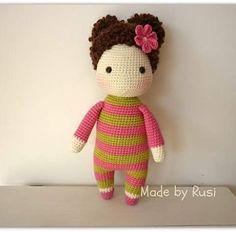 #crochet #amigurumi #amigurumigoll #crochetdoll #madebyrusi #rusidolls