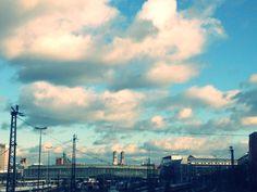 München, Hackerbrücke, my home