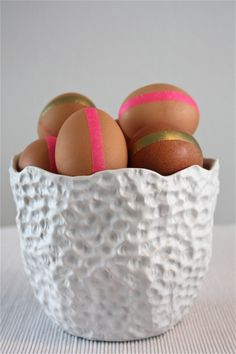 Neutrals and Neon Eggs