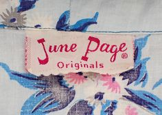 June Page .. Has a 1940s Look
