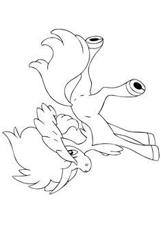Kleurplaat Giratina pokemonkleurplaten http wwwpokemon