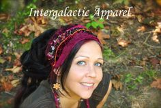 Festival Clothing, Headband, Dreadband, Dread Wrap, Dreadlocks, Intergalactic Apparel