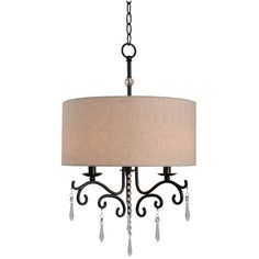 You'll love the Esley 3-Light Drum Chandelier at Wayfair - Great Deals on all Lighting products with Free Shipping on most stuff, even the big stuff.