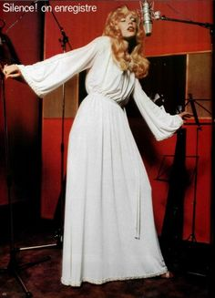 1977 - Karl Lagerfeld 4 Chloé white dress