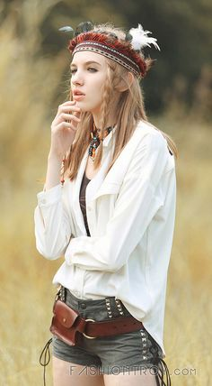 Fashiontroy Bohemian 9/10 sleeves shirt collar white black embroidered asymmetric shirt