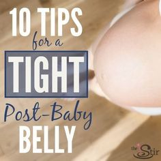 10 Tricks for Tightening Loose Skin Post-Baby | The Stir