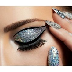 """""""Never let anyone dull your sparkle!"""" This #beauty campaign pretty much sums that up! Art Direction, Makeup, and Nails by Karla Powell @karlapowellmua campaign for Magnum's 25th Birthday Anniversary Model is Sara Grabek Photographry by Peter..."""