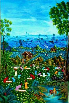 Carrie Art Gallery - Jn Baptiste Chery - 2195, USD580.00 (http://www.carrieartgallery.com/jn-baptiste-chery-2195/)