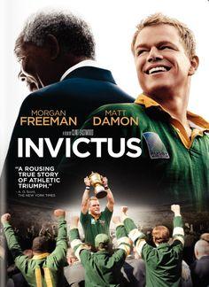 Invictus - Clint Eastwood with morgan freeman and matt damon #movie