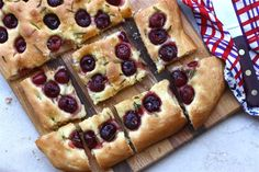 Cherry Rosemary Sea Salt Foccacia. I want someone to make this for me right this very second.