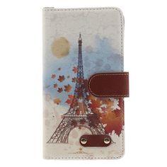 Javu - Samsung Galaxy A7 Hoesje - Wallet Case Eiffeltoren   Shop4Hoesjes