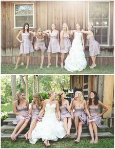 Would be so funny if the bride did this with the groomsmen!