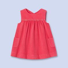 Robe en velours côtelé ROSE INDIEN Fille - Vêtement Bébé - Jacadi Paris