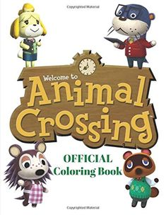 Animal Crossing: Animal Crossing Official Coloring Book,50 Character Animal Crossing Coloring pages& Activity Book ,I...