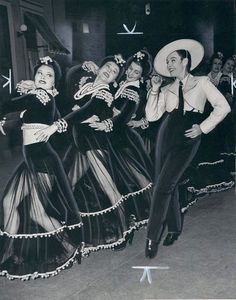 A way with the ladies: Paulette Goddard as a cross-dressing caballero in Pot o' Gold (1941, United Artists)