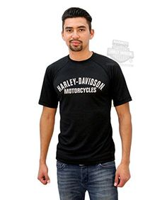 Harley-Davidson Mens Performance HD with B&S Mesh Black Short Sleeve T-Shirt - 4X. Harley-Davidson Mens Performance HD with B&S Mesh Black Short Sleeve T-Shirt. Short sleeve crew performance tee with mesh. Specific Color: Black. Officially Licensed Harley-Davidson Product by VF Licensed Sports Group.